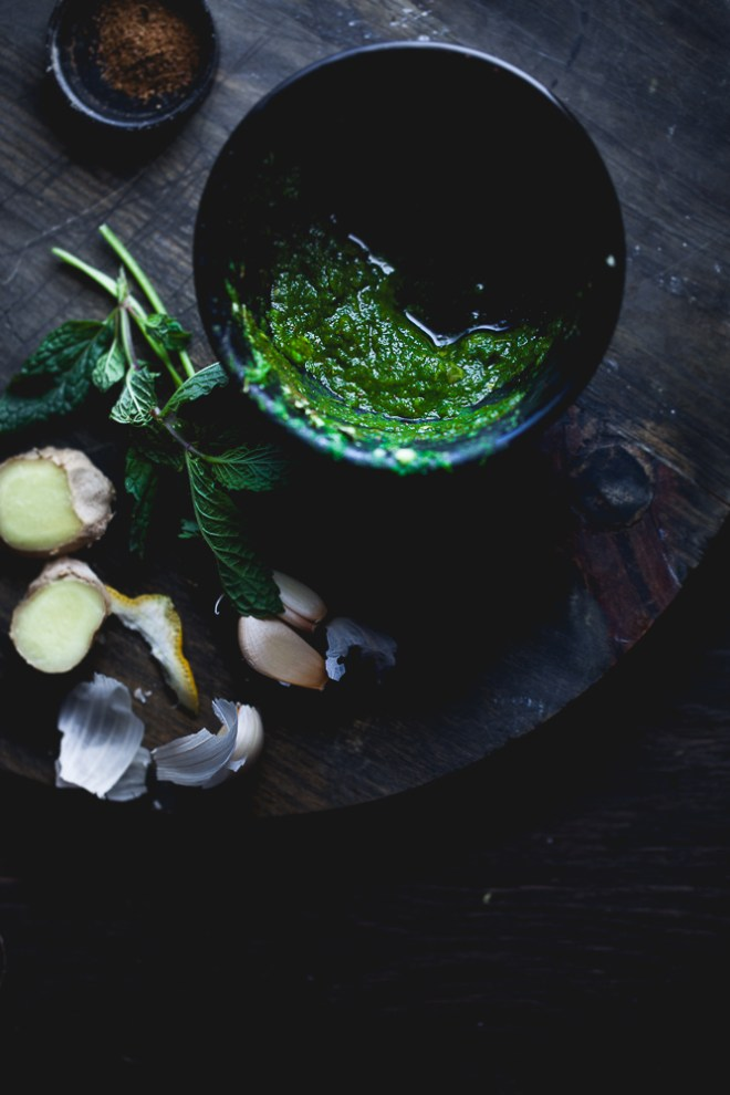 Sinfully Spicy : Green Masala