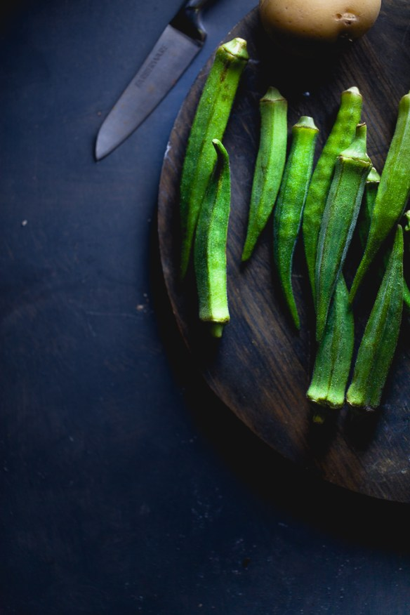 Sinfully Spicy : Okra
