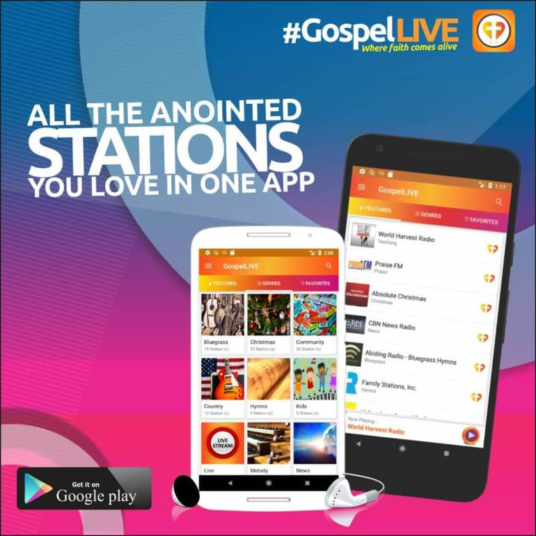 Download Gospel Live App