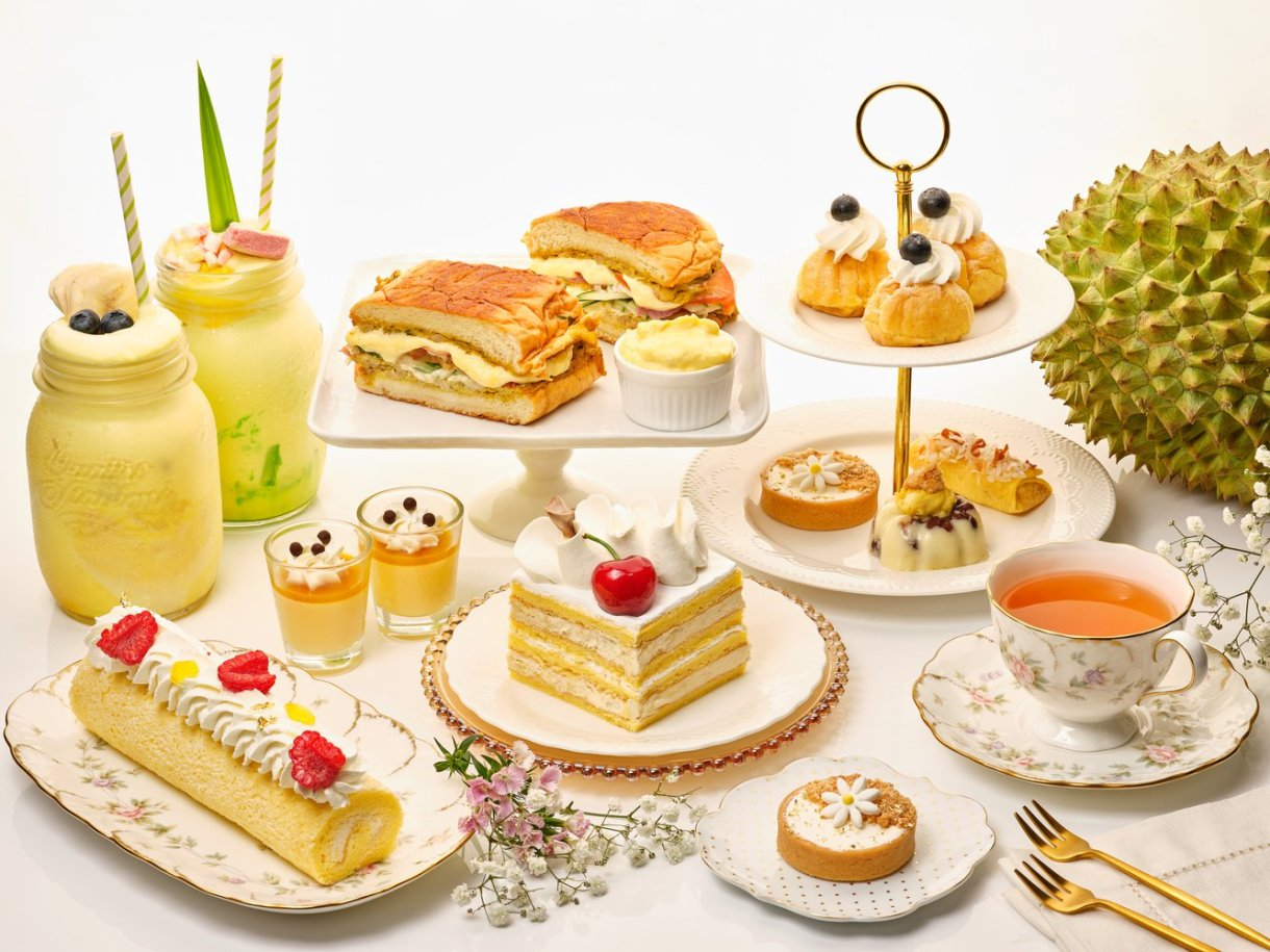 durian high tea buffet