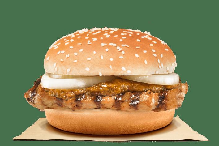 Burger King SG laksa & rendang burgers