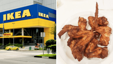 IKEA $1 Chicken Wings