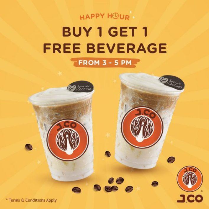 1-for-1 beverages at j.co