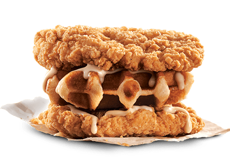KFC 1-for-1 Waffle Double Down