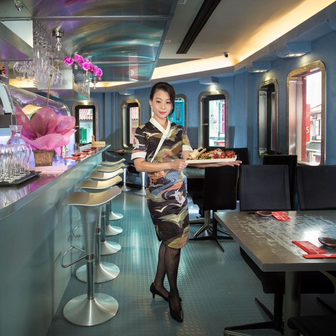 Unique Dining Experience Sushi Airways
