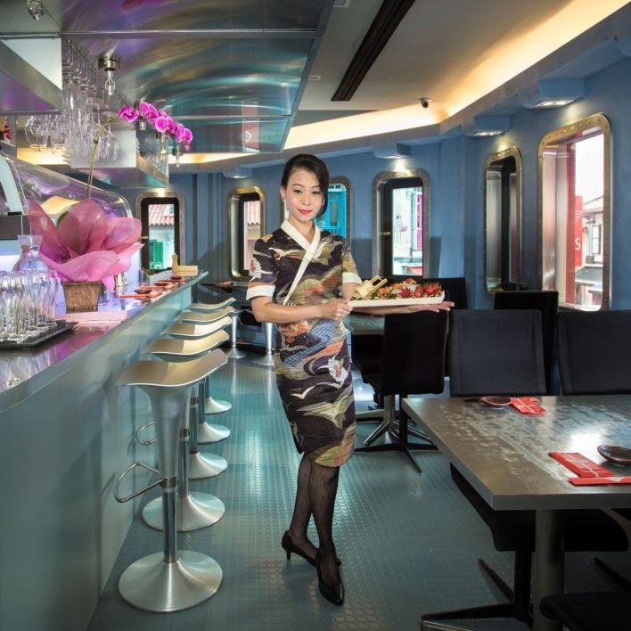 Unique Dining Experience Sushi Airways