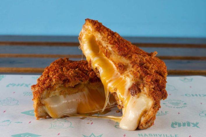 Chix Hot Chicken Restaurant Eatery Fast Food Halal