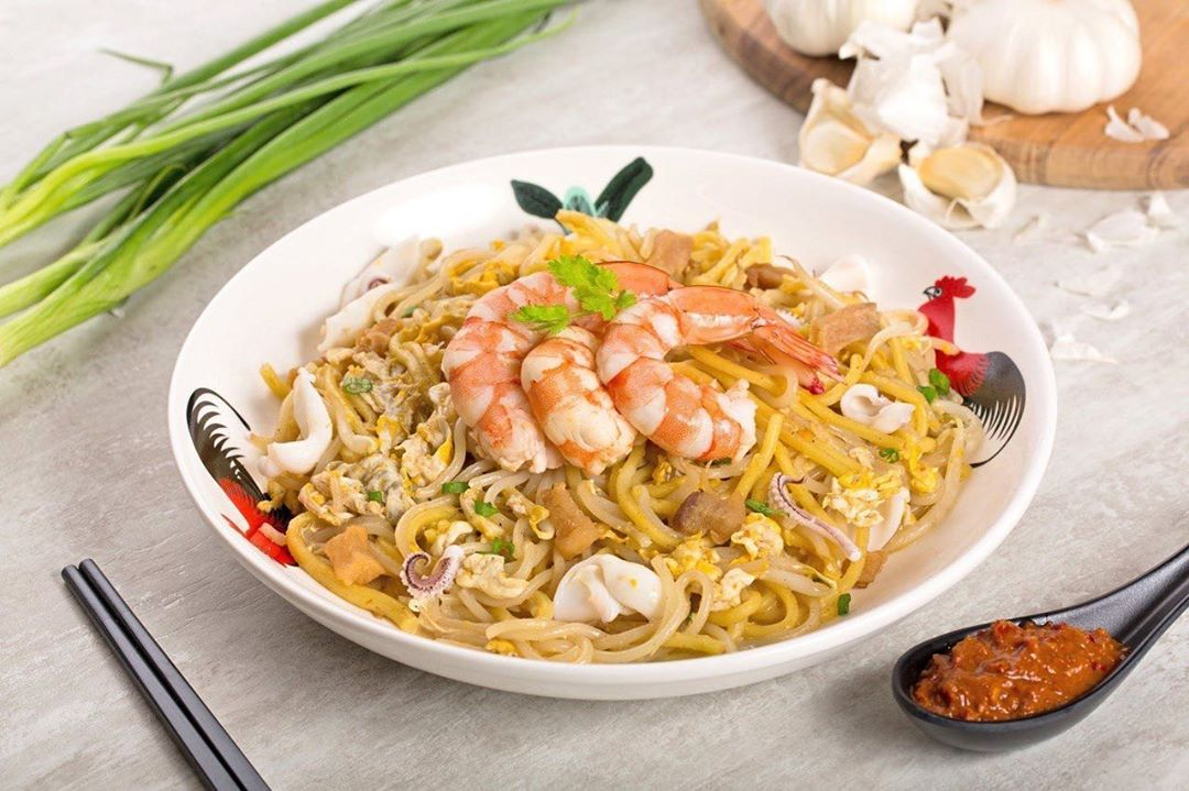 Hawker Food Singapore Hawkee Noodles