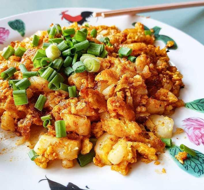Song Han Carrot Cake Cheap Meals