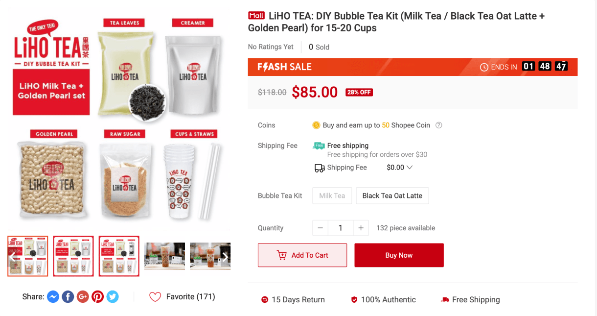 LiHo Bubble Tea Kit