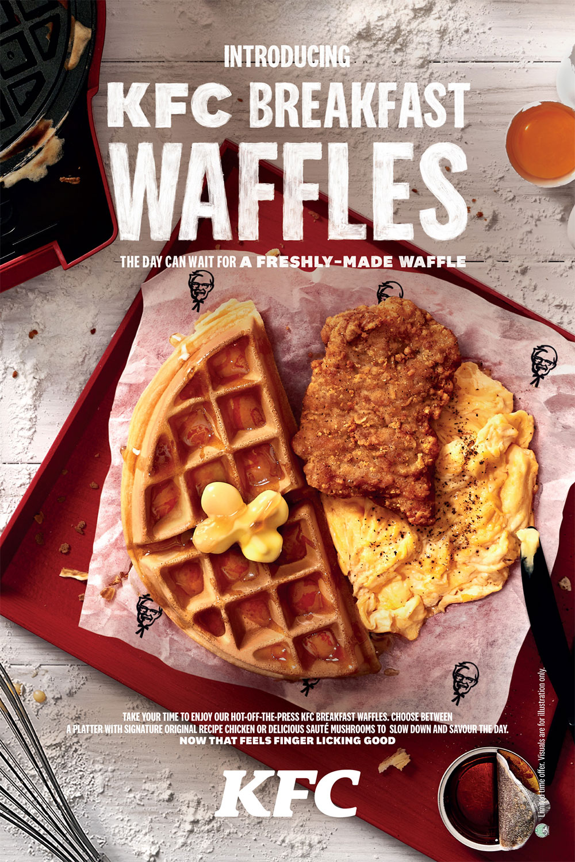 KFC Breakfast Waffles