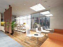 Office Break Room Coffee Bar Interior Design