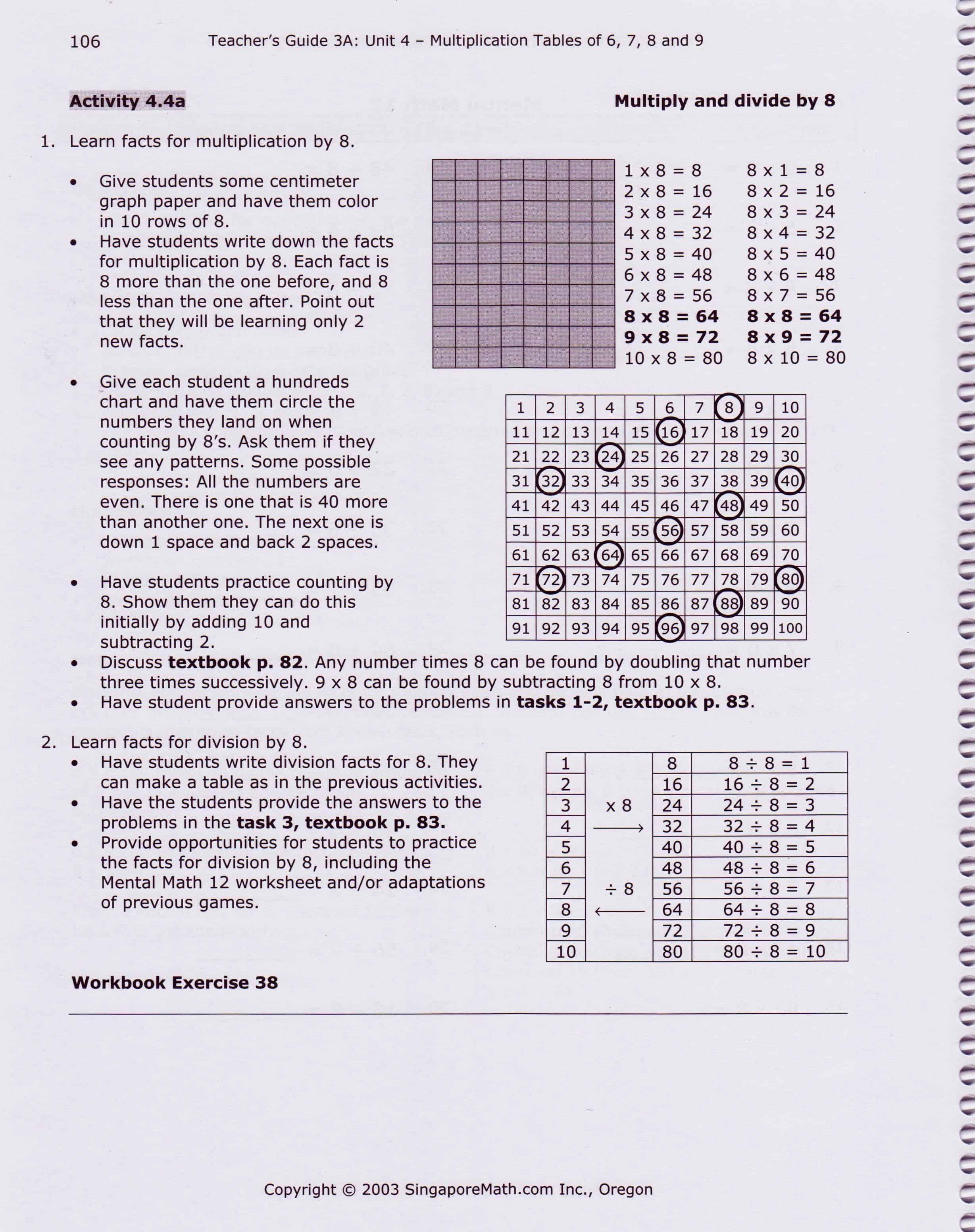 Singapore Math curriculum | SingaporeMathSource - Part 7 on
