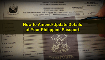 Services offered by singapore philippine embassy and overseas updating details on your philippine passport in singapore stopboris Gallery