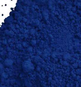 Midnight blue powder
