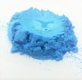 Sky Blue Mica Powder