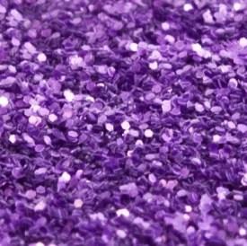 lilac purple glitter