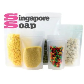 Ziplock Stand Up Bag - Frosted