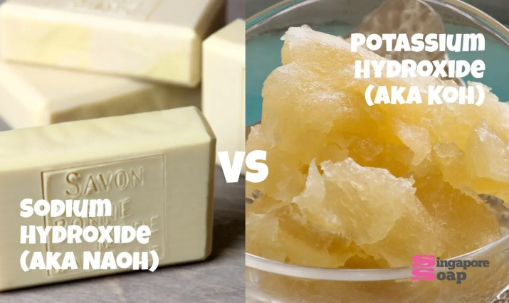 Difference between Sodium Hydroxide and Potassium Hydroxide