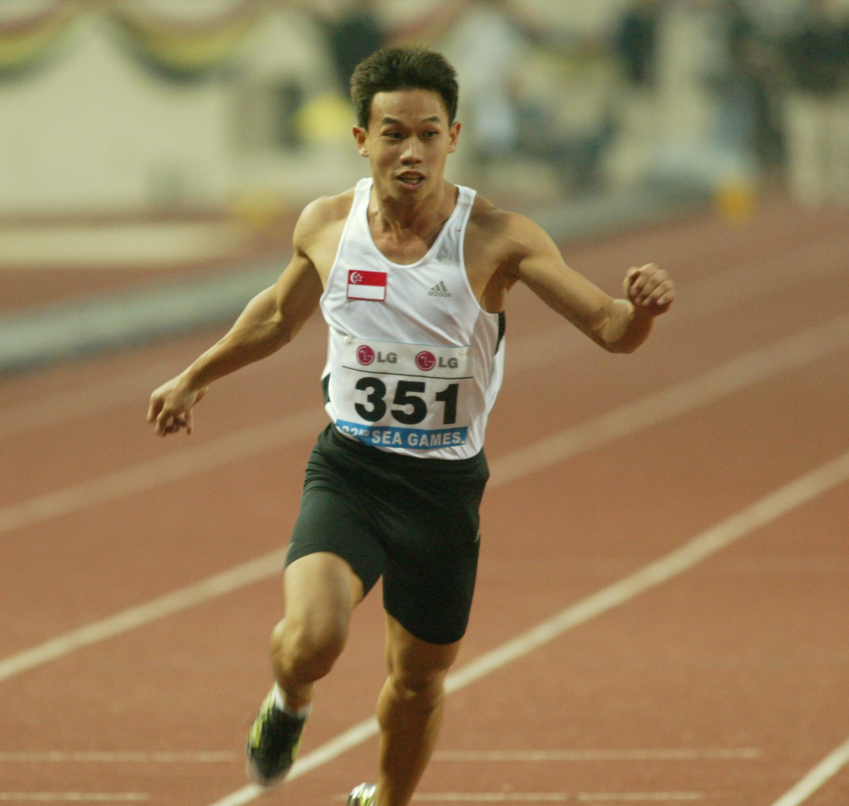 The onus is now on Seng Song to consistently reproduce times close to or better than the 10.49sec he clocked at the Asean University Games. Picture from www.ssc.gov.sg
