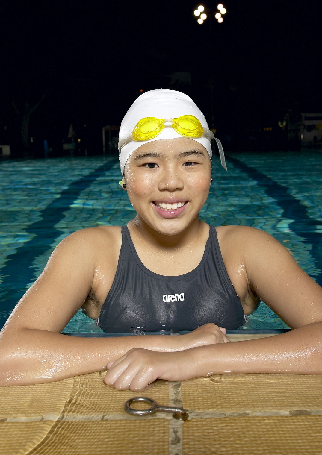 Swimmer and Paralympic champion Yip Pin Xiu - a modern tale of courage and humility. Picture taken from www.teamsingapore.com.sg