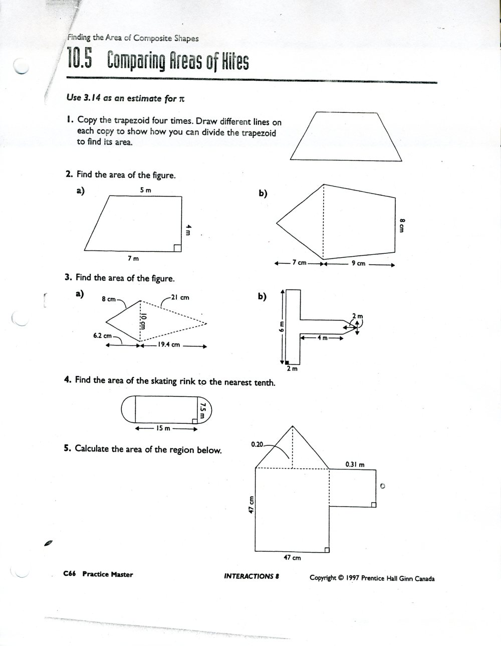 medium resolution of Area Of Composite Figures Worksheet 7th Grade   Printable Worksheets and  Activities for Teachers