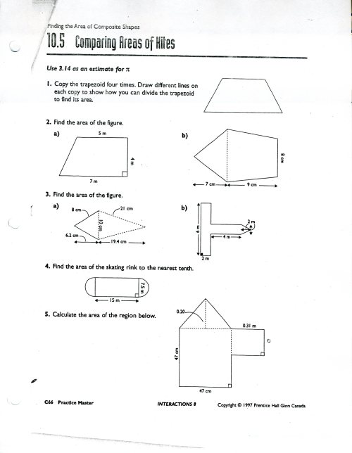 small resolution of Area Of Composite Figures Worksheet 7th Grade   Printable Worksheets and  Activities for Teachers