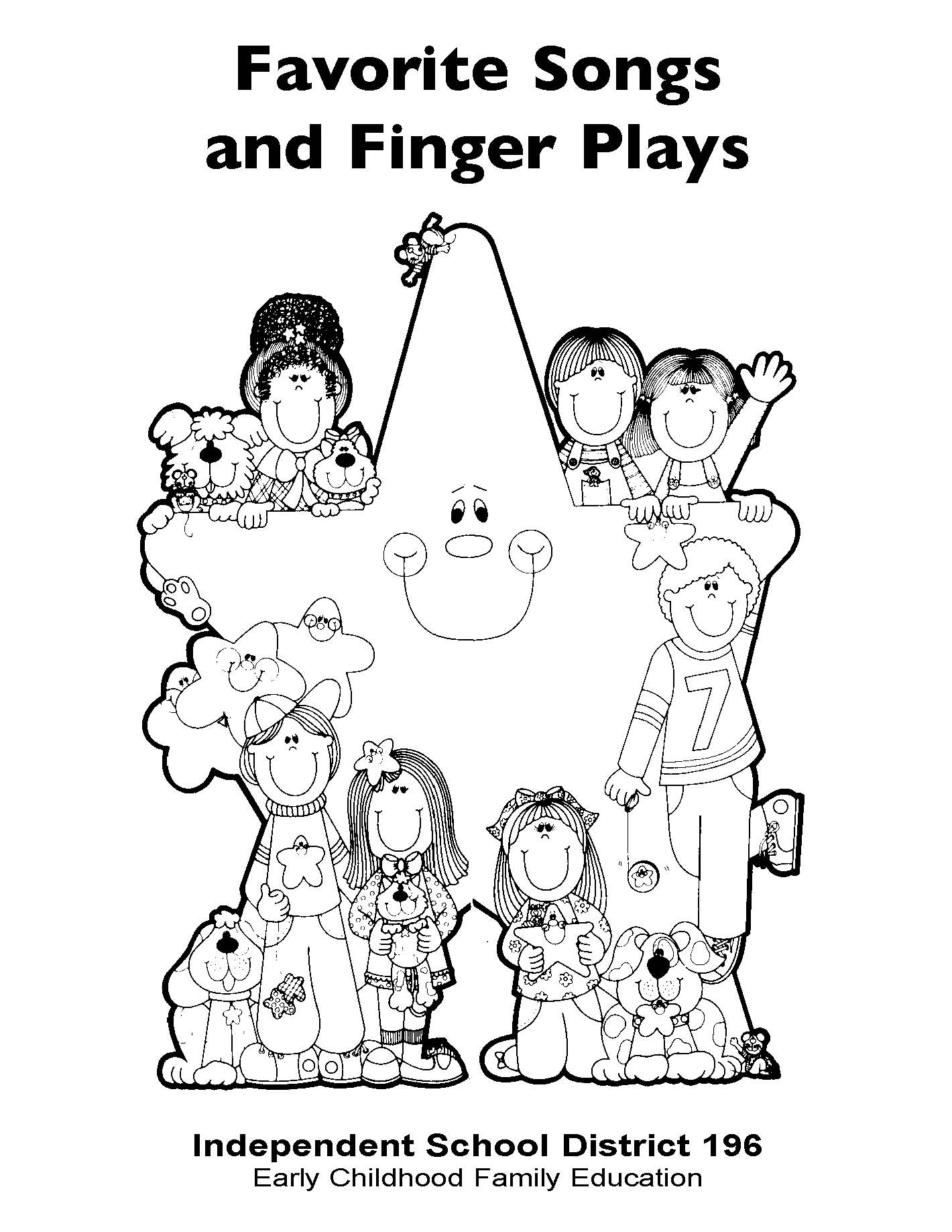 Favorite Songs and Fingerplays, a fabulous resource that