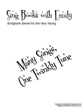 Sing Books with Emily Songbook Series: Many Songs, One