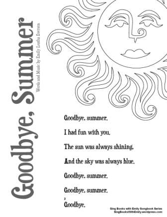 Goodbye, Summer, an Illustrated Song by ELEG for SBWE