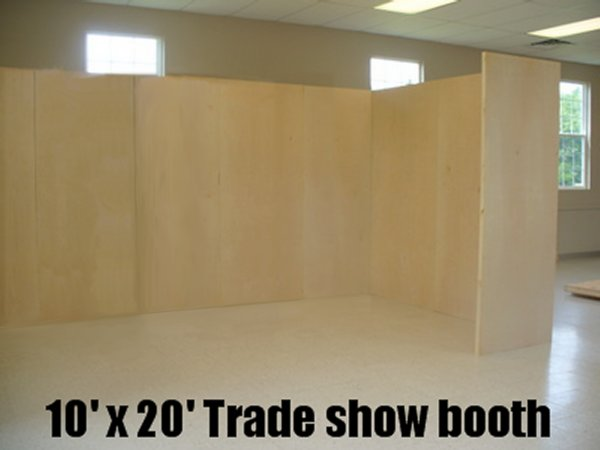 10x20 trade show booth 16 30 inch trade show display