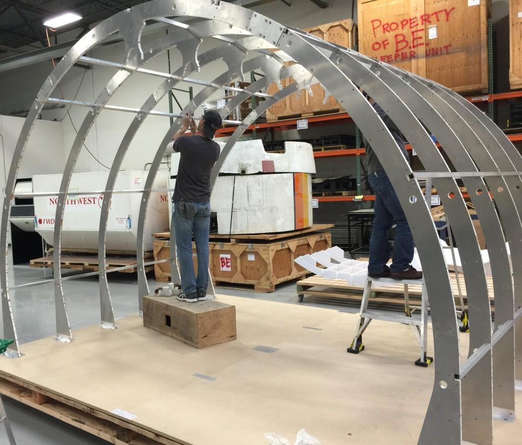 Lightweight High Strength Honeycomb Panels Aerospace