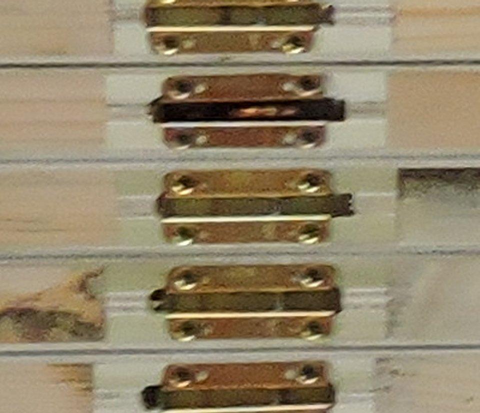 Cam lock panels for lightweight high strength modular wall