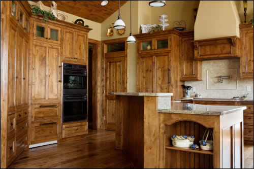Lowes knotty alder kitchen cabinets  Nonwarping patented