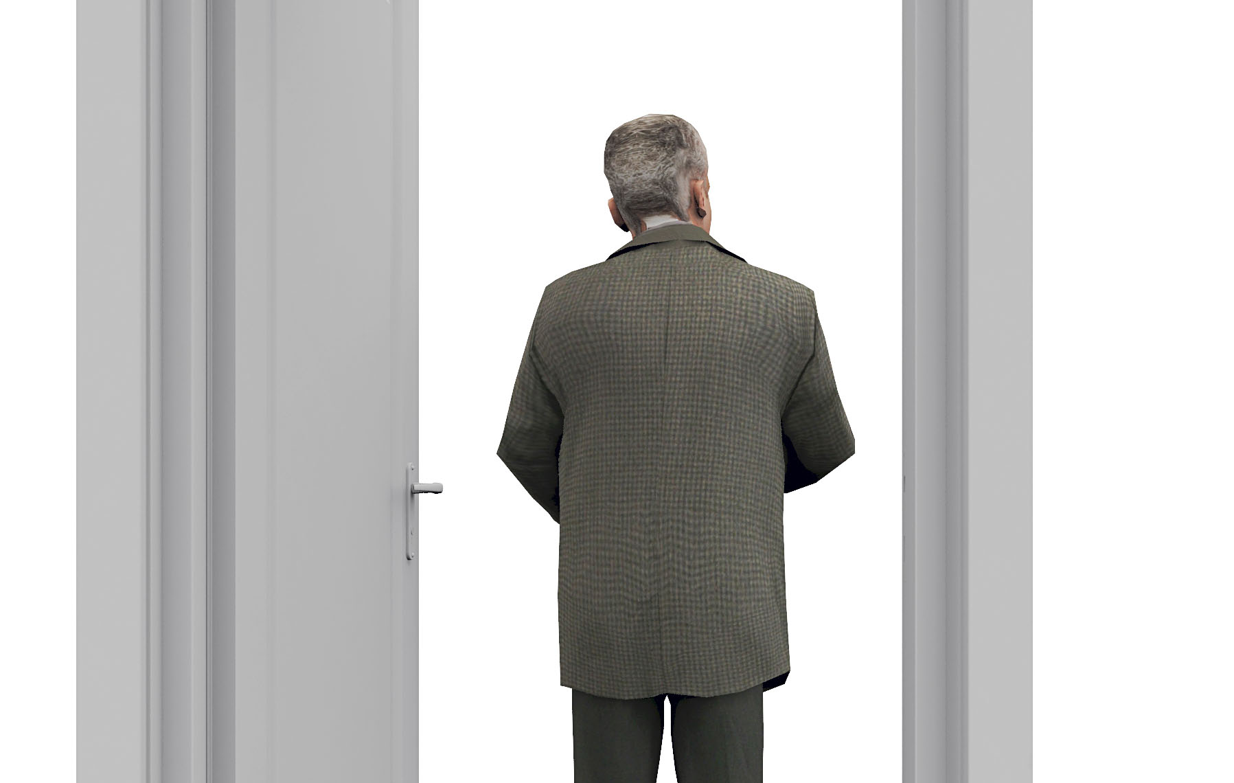 Man door within door  Non
