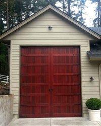 Bifold Doors Weatherproof Wood Garage Door  Non-warping ...
