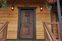 Log Home Exterior Doors   Design Ideas