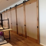Sliding Barn Doors Non Warping Patented Wooden Pivot Door Sliding Door And Eco Friendly Metal Cores