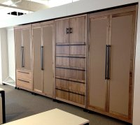 Large Cabinet Doors  Non-warping patented honeycomb ...