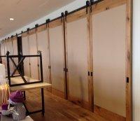 Interior Sliding Barn Door Hardware.Installing A Barn Door ...