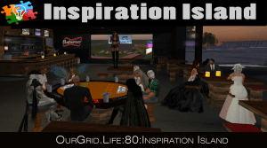 7pm PT  Movie Or Greedy Game on Inspiration Island @ The Warehouse on Inspiration Island