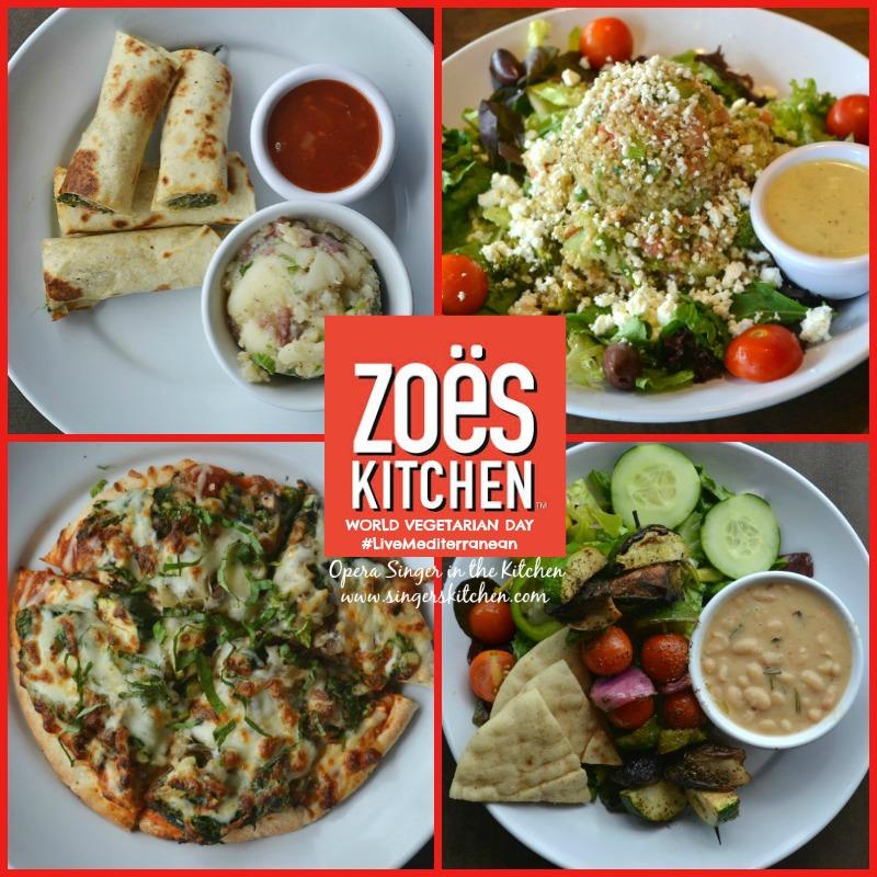 World Vegetarian Day with Zos Kitchen #LiveMediterranean