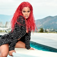 Teyana Taylor is Red Hot For Playboy Cover