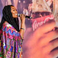 Brandy Performs at 2019 Essence Festival