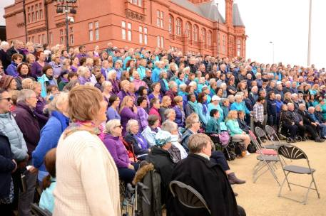 Sing for Water Cardiff 2015 - Performance - Massed Choir