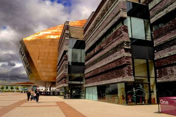 Wales Millenium Centre, one of the supporters of Sing for Water Cardiff 2015