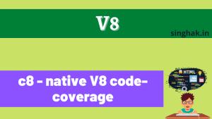 c8 – native V8 code-coverage