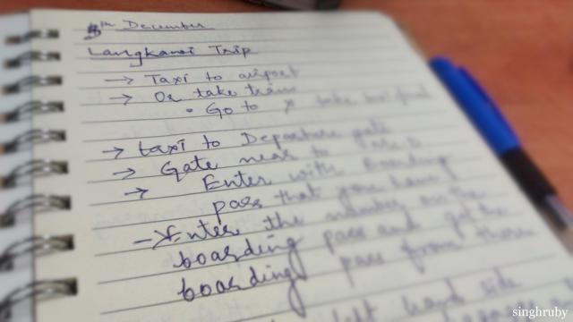 Langkawi Diaries