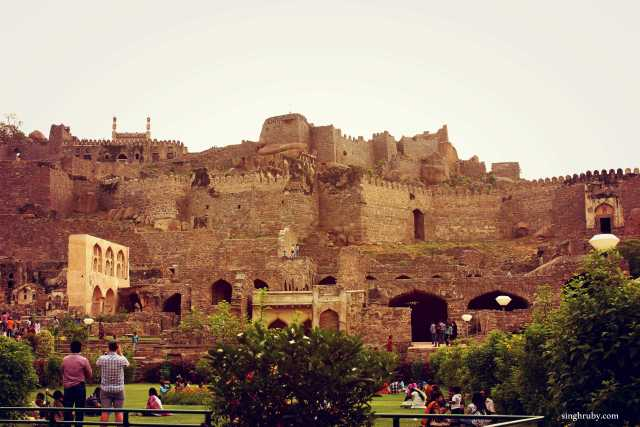 Glorious Golkunda Fort