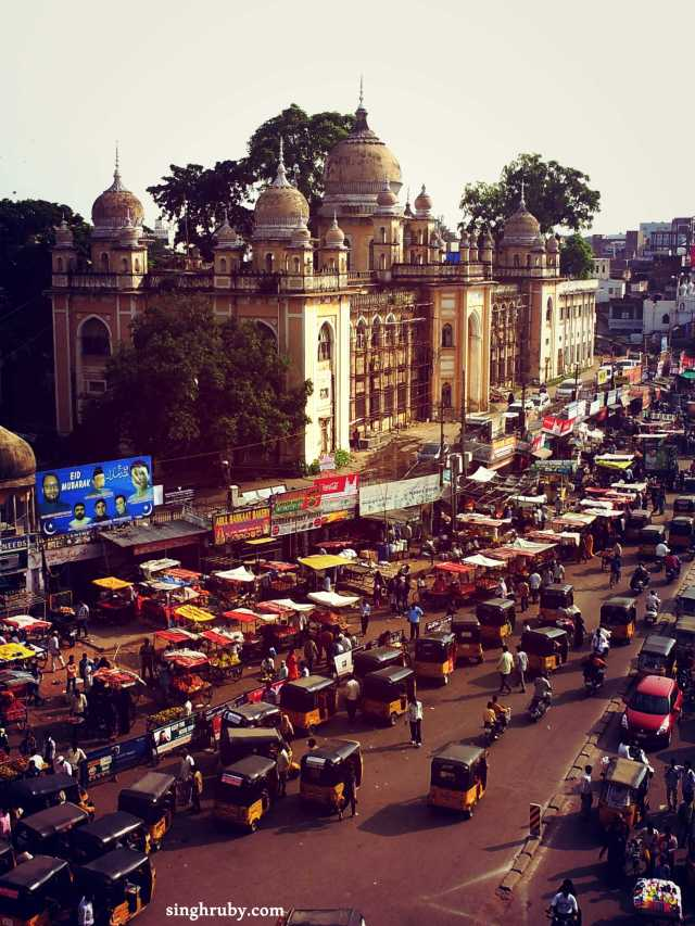 A lousy day at Old Hyderabad